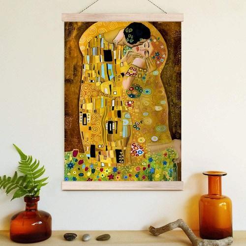 Decor Desing Askılı Deri Duvar Posteri Hak175