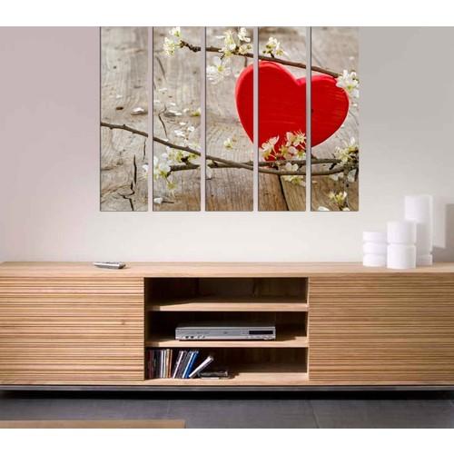 Decor Desing 5 Parçalı Dekoratif Tablo Bsrm037