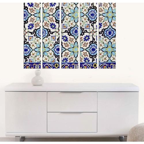 Decor Desing 5 Parçalı Dekoratif Tablo Bsrm041