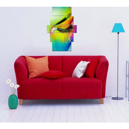 Decor Desing 5 Parçalı Dekoratif Tablo D5Tp104