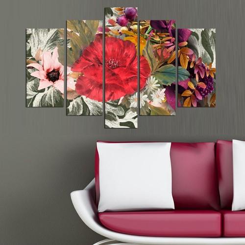 Decor Desing 5 Parçalı Dekoratif Tablo D5Tp162