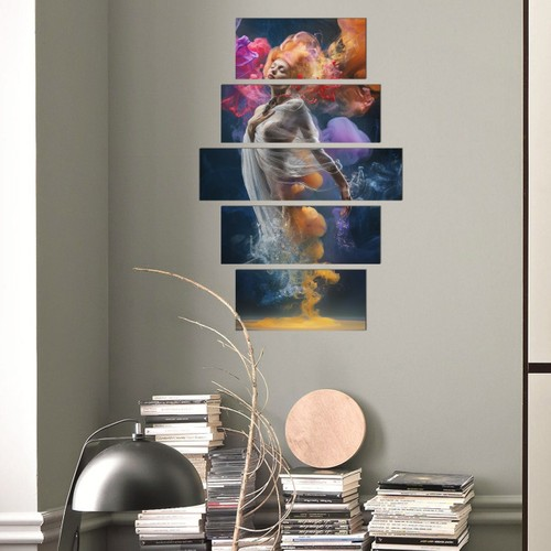 Decor Desing 5 Parçalı Dekoratif Tablo D5Tp183