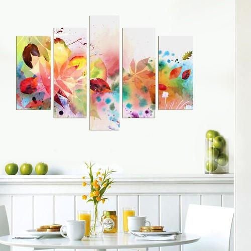 Decor Desing 5 Parçalı Dekoratif Tablo Dec043