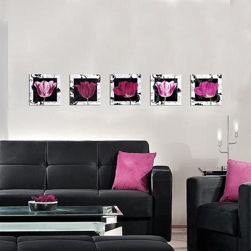 Decor Desing Dekoratif 5'li Tablo Utb093