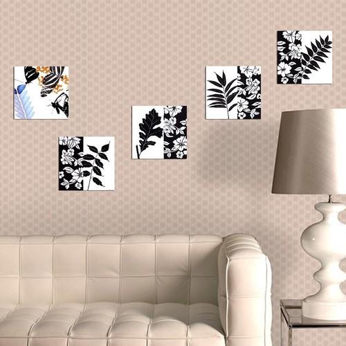 Decor Desing Dekoratif 5'li Tablo Utb097