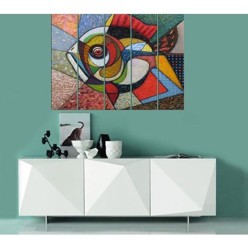 Decor Desing 5 Parçalı Dekoratif Tablo Vsrm036