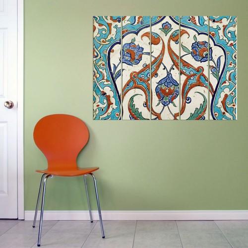 Decor Desing 5 Parçalı Dekoratif Tablo Vsrm055