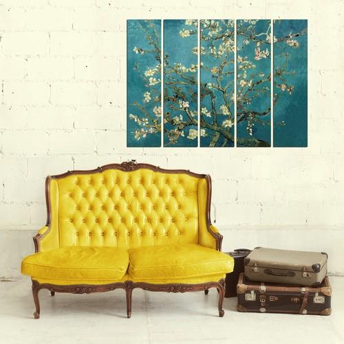 Decor Desing 5 Parçalı Dekoratif Tablo Vsrm131