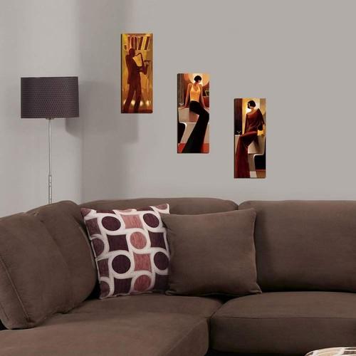 Decor Desing Dekoratif 3'lü Mdf Tablo Xtp180