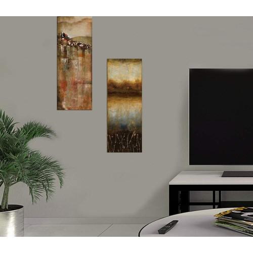 Decor Desing Dekoratif İki Li Mdf Tablo Xtp241