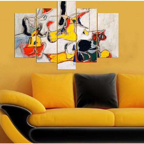 Decor Desing 5 Parçalı Dekoratif Tablo Y5Tp015