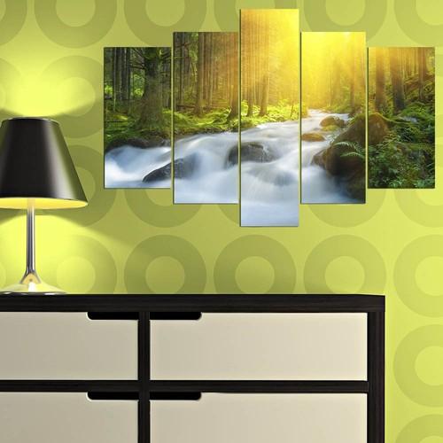 Decor Desing 5 Parçalı Dekoratif Tablo Y5Tp044