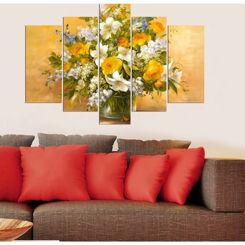 Decor Desing 5 Parçalı Dekoratif Tablo Y5Tp067