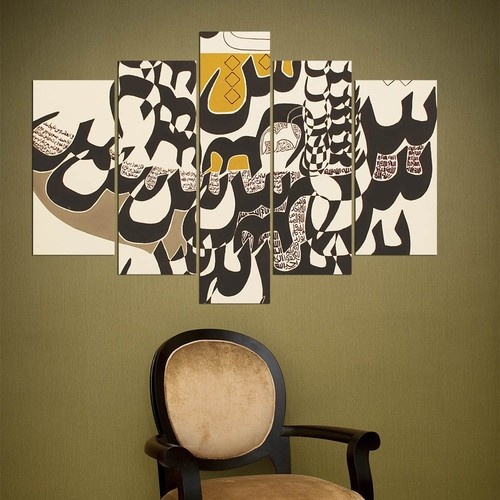 Decor Desing 5 Parçalı Dekoratif Tablo Y5Tp070