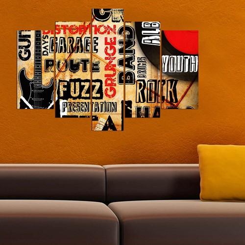 Decor Desing 5 Parçalı Dekoratif Tablo Y5Tp076