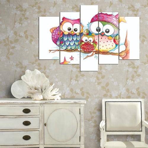Decor Desing 5 Parçalı Dekoratif Tablo Y5Tp085