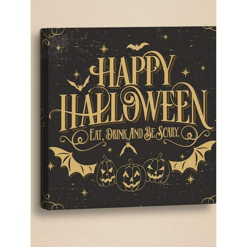 Decor Desing Halloween Kanvas Tablo Hl018