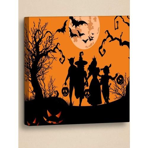 Decor Desing Halloween Kanvas Tablo Hl019