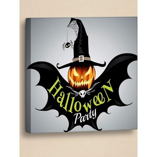 Decor Desing Halloween Kanvas Tablo Hl020