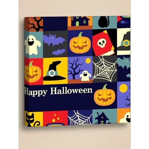 Decor Desing Halloween Kanvas Tablo Hl022