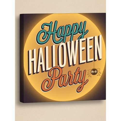 Decor Desing Halloween Kanvas Tablo Hl029