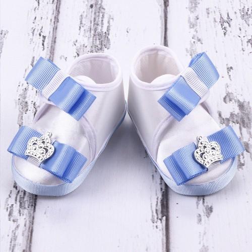 Küçük Rüyalar Ptk-064 Bebek Patiği Mavi