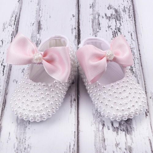 Küçük Rüyalar Ptk-069 Bebek Patiği Pembe