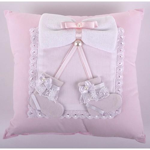 Küçük Rüyalar Yst008Pmb Bebek Takı Yastığı Pembe