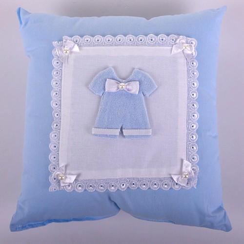Küçük Rüyalar Yst013Mv Bebek Takı Yastığı Mavi