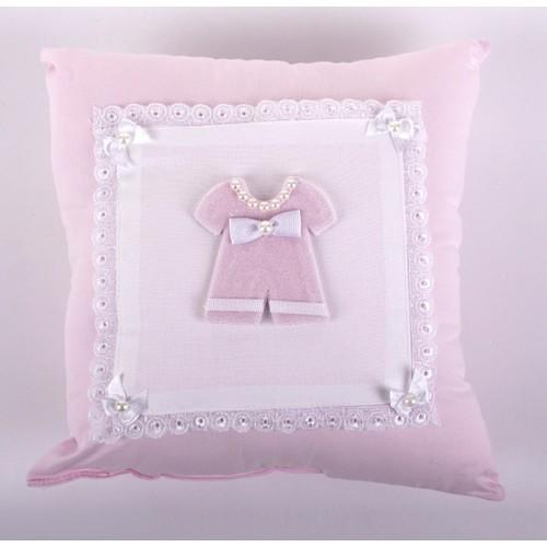 Küçük Rüyalar Yst013Pm Bebek Takı Yastığı Pembe
