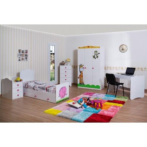 Dinazor Mobilya Fil Büyüyebilen Bebek Odası