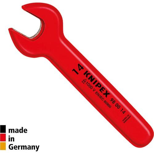 Knipex 980016 Vde İzoleli Tek Ağız Anahtar 16 mm
