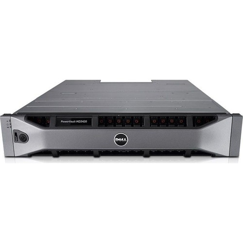 Dell Powervault Md3420, 12G Sas, 2U-24 Drive Md34S2524Dc-001