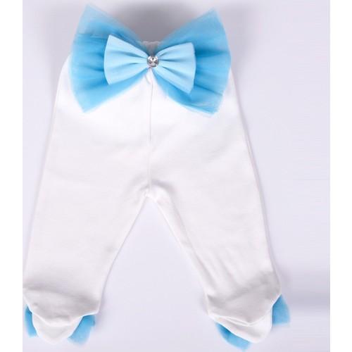 Küçük Rüyalar Pnt004-4 Süslü Bebek Patikli Pantolon