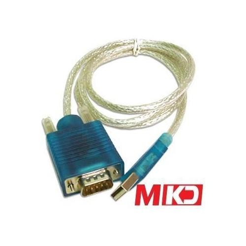 Mkd Mk-Rs02 Usb Rs-232 (Seri) Çevirici Adaptör 1.5 Metre Mk-Rs02