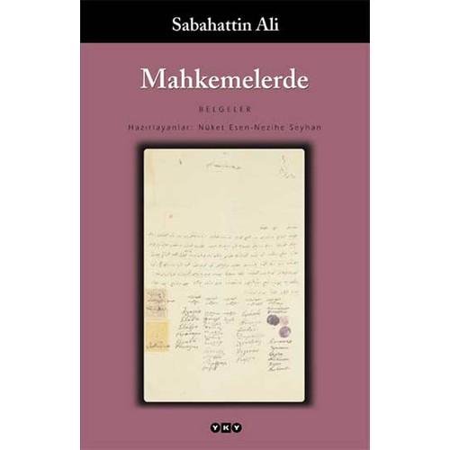 Mahkemelerde - Sabahattin Ali