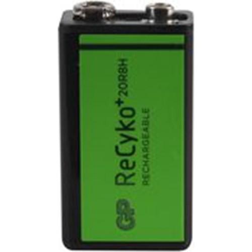 Gp Recyko 20R8H 200Mah 9V Şarjlı Pil