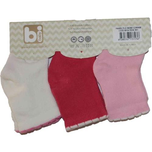 Bibaby 68104 Paris 3 lü Çorap