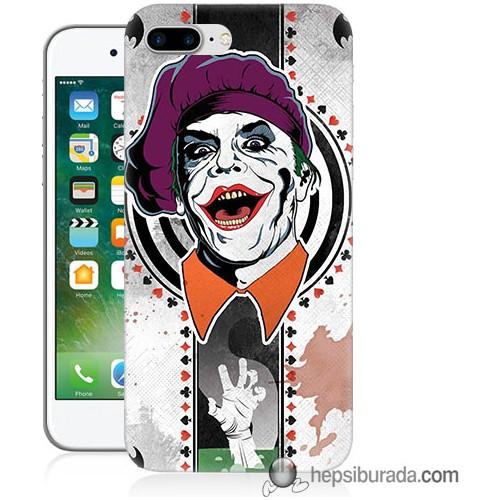 Teknomeg iPhone 7 Plus Kapak Kılıf Joker 21 Baskılı Silikon