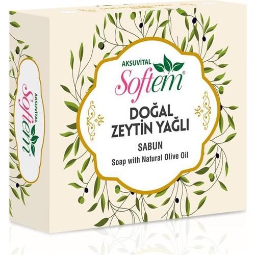 Softem Doğal Zeytinyağlı Sabun 130 Gr