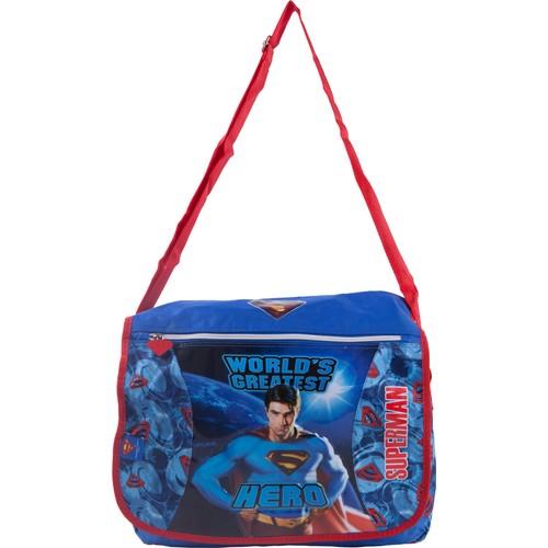 Erkan Çanta Superman Postacı Okul Çantası