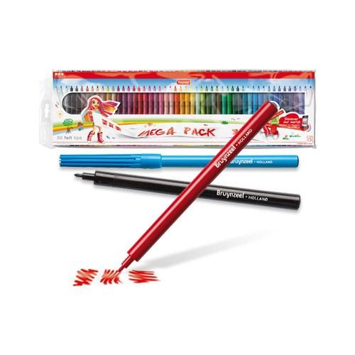 Bruynzeel Keçeli Kalem Seti 50 Li