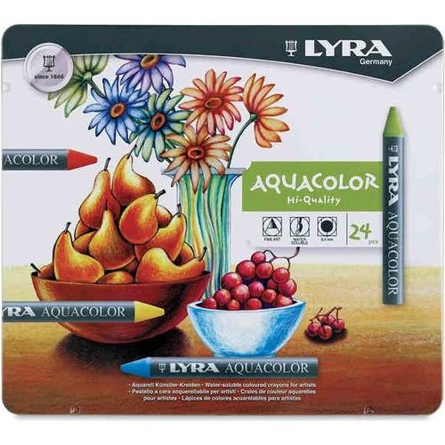 Lyra Aquarelle Pastel 24 Lü