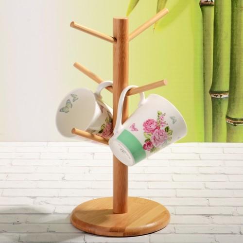 iHouse Bambu Kupa Askısı