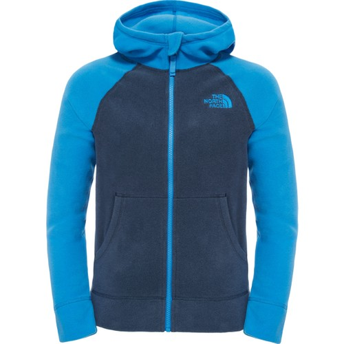 The North Face Glacier Full Zip Hoodie Erkek Çocuk Polar