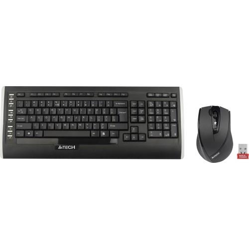 A4 Tech A4 Tech 9300F Q Tr 2.4Ghz Multimedya Klavye+V-Track Mouse 9300F-Q