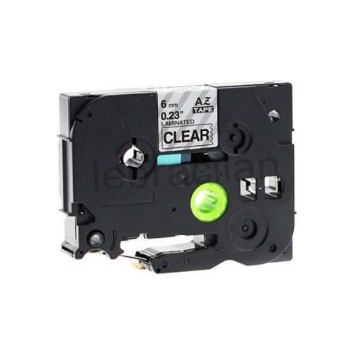 Sarf Muadil Brother P-Touch Tz-Tape 6Mm Sarı-Siyah Etiket 6Tze611