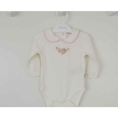 Premom 1269A Güllü Taşlı Kız Bebek Body