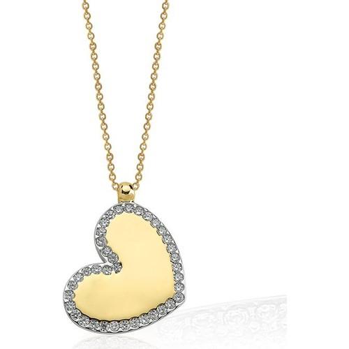 Ferreguer Diamond Kolye 14 Ayar Altın AT200129