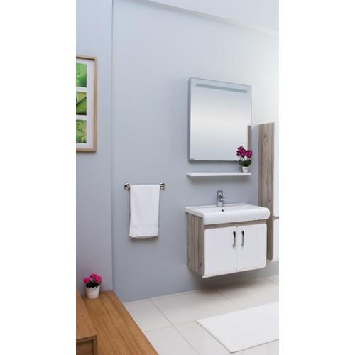 Kare Banyo Flex 65 Cm Banyo Dolabı Mdf